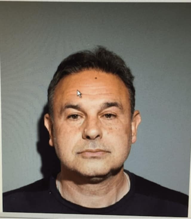 Salvatore Paul Germano of Farmington is charged with first-degree criminal mischief, accused of cutting electrical wires to a house under construction and causing thousands of dollars in damage, New Canaan Police said.