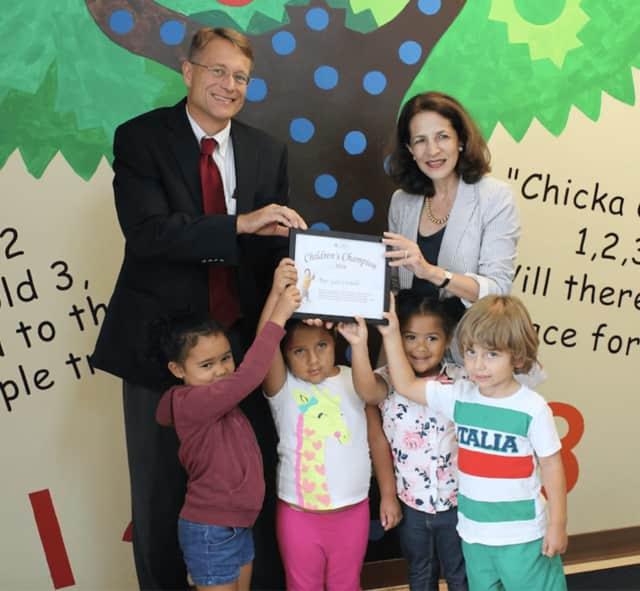 The Connecticut Early Childhood Alliance names State Rep. Gail Lavielle, R-143, a 2016 Children's Champion.