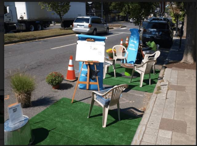 PARK(ing) Day comes to Danbury's Main Street on Friday, Sept. 16.