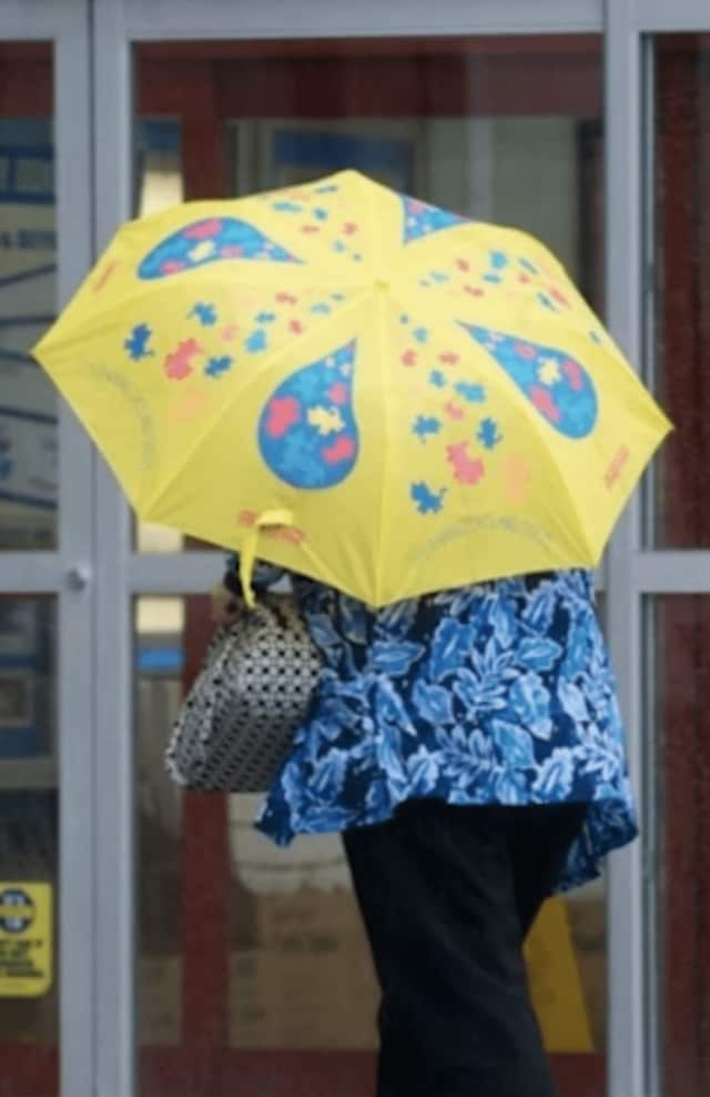 Fairfield County residents can expect to see rain Wednesday.