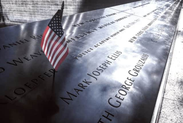 The Town of Pelham honors victims of the 9/11 terrorist attacks with ceremonies at 8:30 a.m. and 6 p.m. on Sunday that will each feature songs, prayers and flags.