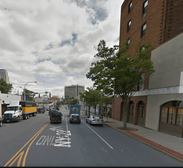 East Post Road in White Plains.