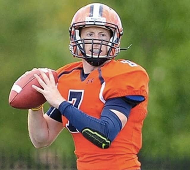 Justin Davidov of Ossining has rushed for two touchdowns and thrown for four more for the Gettysburg College football team.