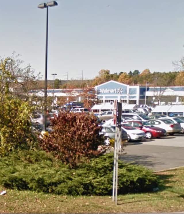 Two men were arrested at the Ramapo Walmart on Route 59 for trying to steal a television.