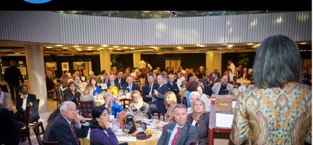 """A photo from the Cultural Alliance of Western Connecticut's """"Business Supports the Arts"""" awards ceremony last year."""