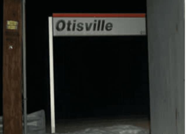 The Otisville train station.