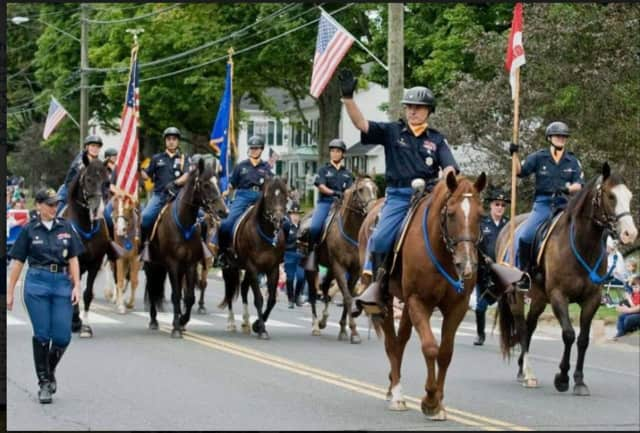The 2nd Company Governors Horse Guard will take part in the Newtown Labor Day Parade.