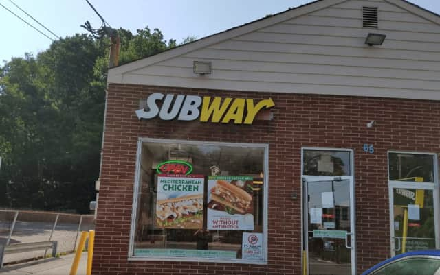 A 65-year-old Hartsdale man was charged with burglarizing the Subway on 65 N. Central Ave.