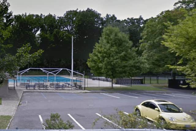 The Lake Street pool in Pleasantville. A man was found in his car at the pool Friday morning, News 12 says.