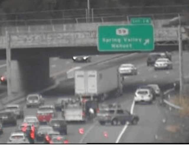 I-87 accident