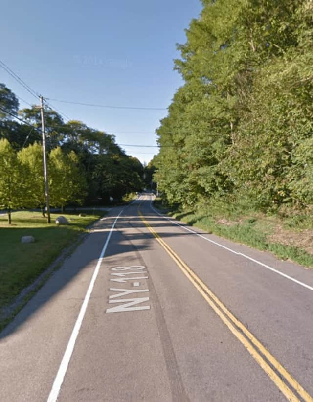 A Peekskill motorcycle rider remained in critical condition after being hit by a car driven by a Somers man on Tomahawk Street.