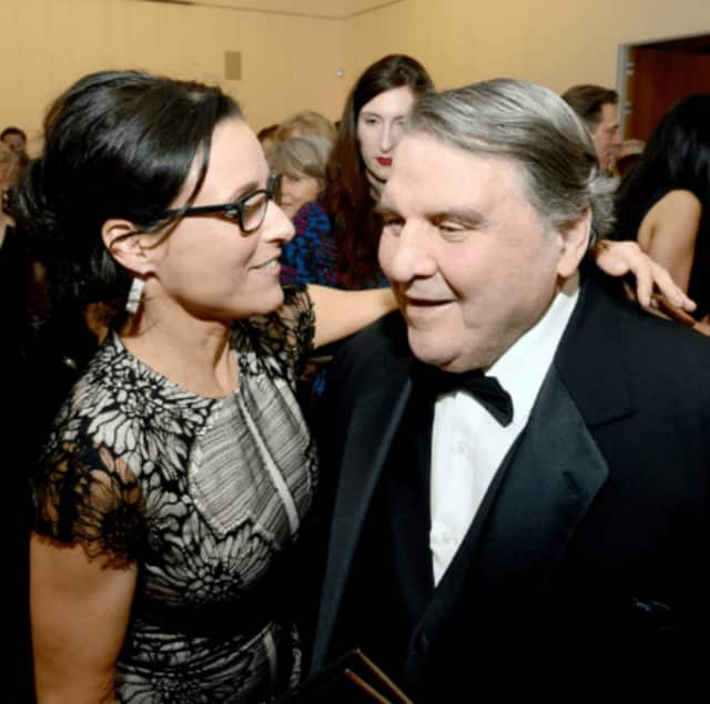 Julia Louis-Dreyfus and William Louis-Dreyfus.