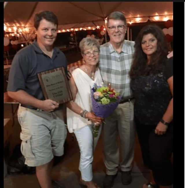 Bob Craybas, Joan Craybas, Larry Craybas and Terri Craybas run Gift Cottage in Bethel. The store received the 2016 Business of the Year award from Bethel Chamber of Commerce.