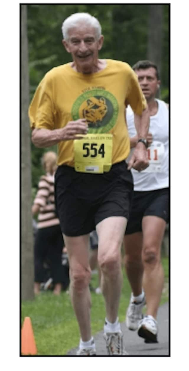 John Dugdale has been involved with the Ridgefield Half Marathon, either as a volunteer, runner or race director, since the race started in 1977.