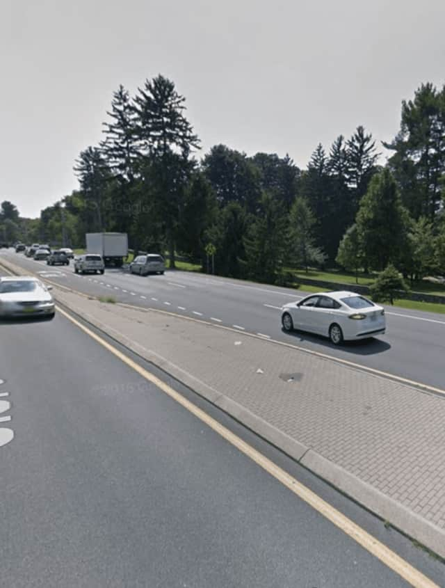 A 22-year-old man was seriously injured on Thursday when he was struck by a car on Route 9 in Hyde Park near the Culinary Institute of America.