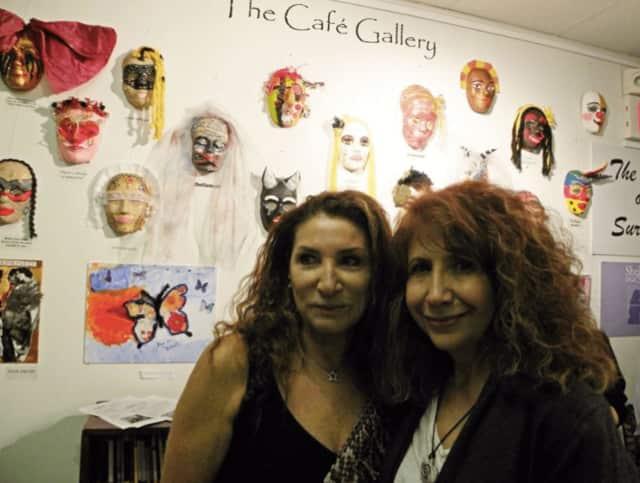 Marta Levy, left and Karen Snyder-Kadish.