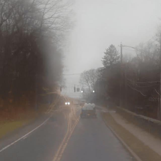 Route 117 in Pleasantville