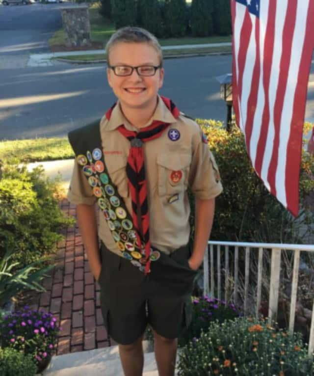 Franklin Praschil, 16, launched the Emerson Memory Garden as his Eagle Scout project.