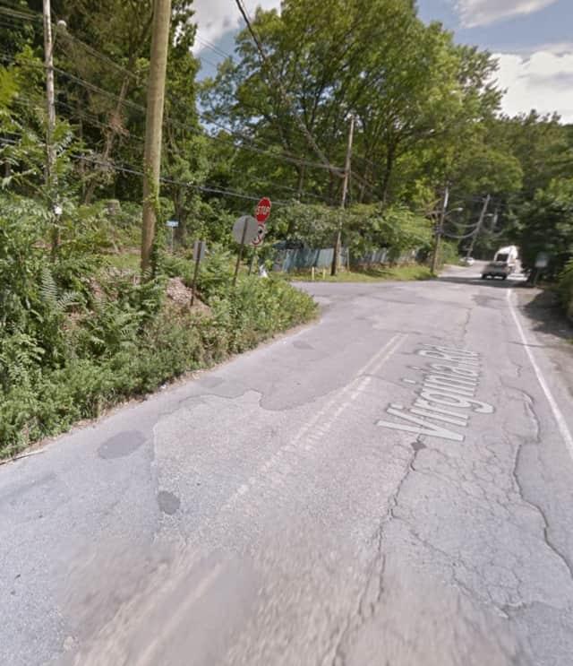 Virginia Road in North Castle.