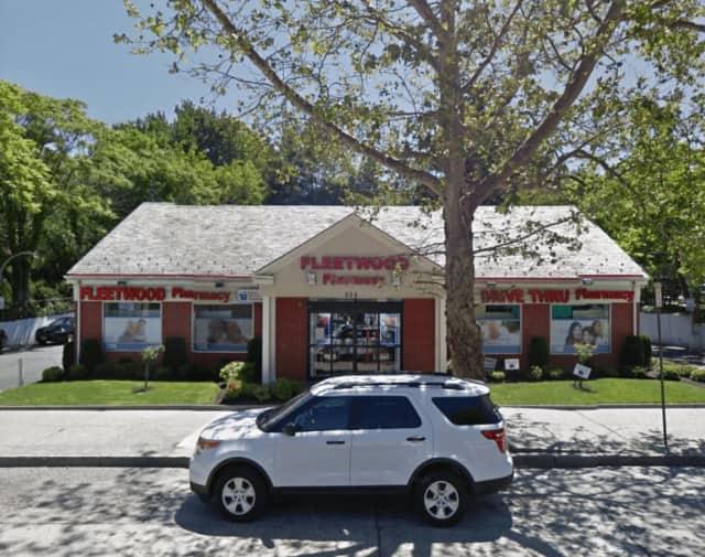Fleetwood Pharmacy was robbed at gunpoint Friday morning.