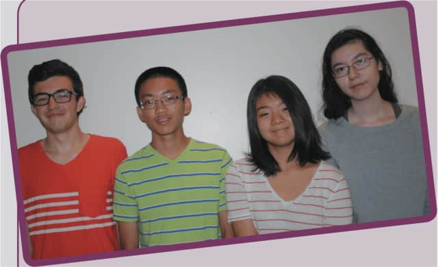Eastchester students Daniel Mancusi, Andy Zhu, Hiroko Abe and Minna Y. Kimura Thollander have been named National Merit Scholarship semifinalists.