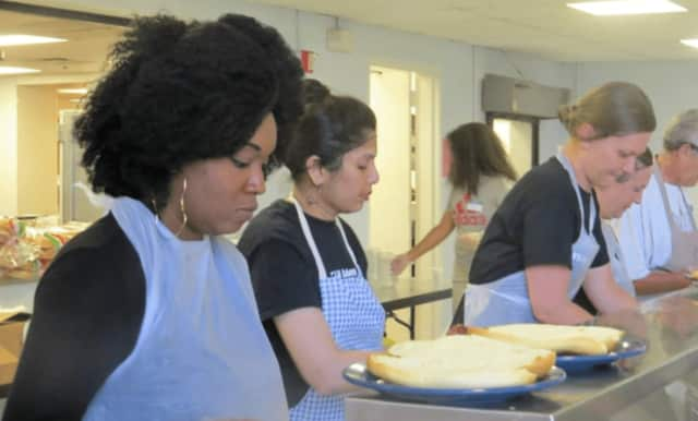Eva's Kitchen serves breakfast and lunch for up to 400 individuals daily.