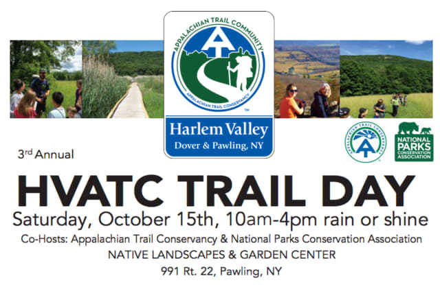 The Harlem Valley Appalachian Trail Community is having its third-annual Trail Day in Pawling Oct. 15.