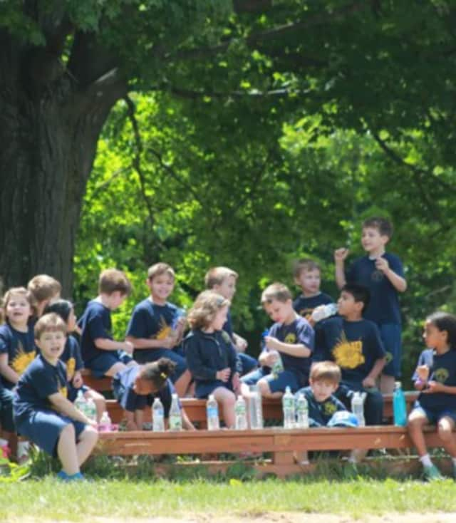 Immaculate Conception students at last year's Walk-a-Thon in Tuckahoe.