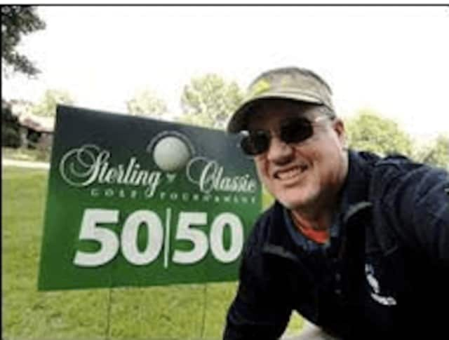 New Sterling House development director Christopher Carroll at the 25th Anniversary Sterling Classic Golf Tournament, which was held last month at the Oronoque Country Club in Stratford.