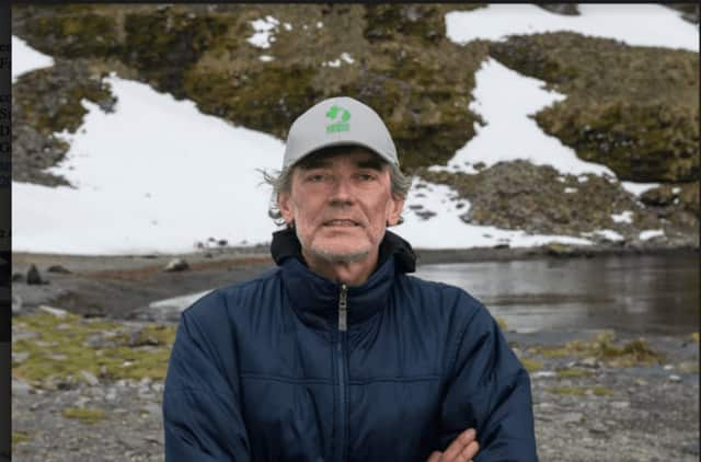 Luc Hardy, Greenwich businessman and adventurer, plans to answer questions after a Nov. 2 screening of a film that retraces the steps of Antarctic explorer Ernest Shackleton.