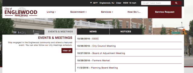 The City of Englewood rolled out a new website and app.