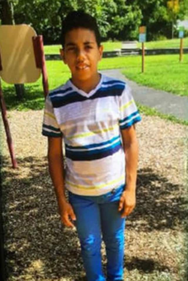 Frailyn Nunez, 11, has been missing from his Danbury home since Monday.