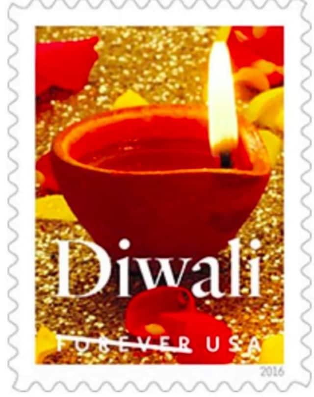 Diwali stamp.