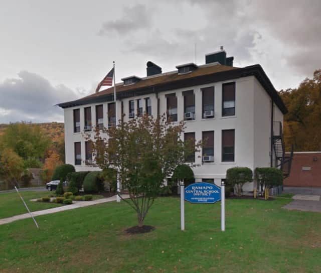 The Ramapo Central School District administrative offices in Hillburn. The district is looking into changing its name, according to lohud.