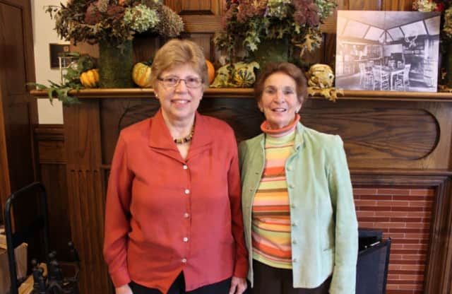 Roberta Gagne and Sandy Zera were given The Crane-Wood Book Sale Award.
