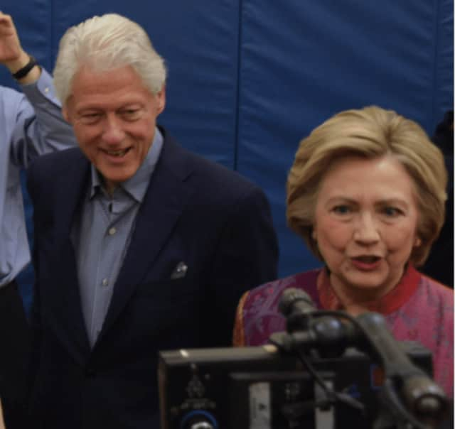 Chappaqua's Bill and Hillary Clinton