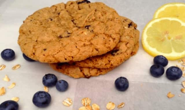 Lemon-blueberry cookies by Bradley Bake Shop.