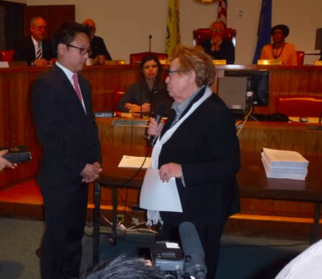 Councilman Daniel Park wins in Tenafly.