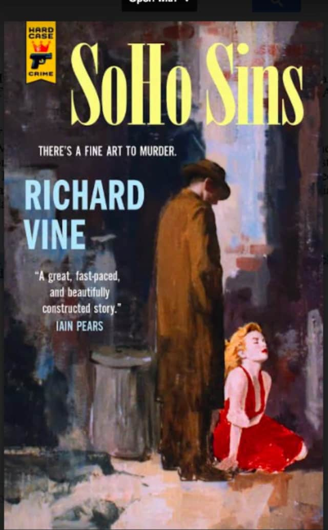 """The Housatonic Museum of Art Presents a lecture, book signing and reception with Richard Vine, Managing Editor of Art in America, highlighting his debut novel, """"SoHo Sins."""""""