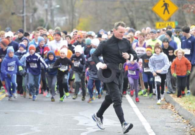 The inaugural Yorktown Turkey Trot is scheduled for Thursday.