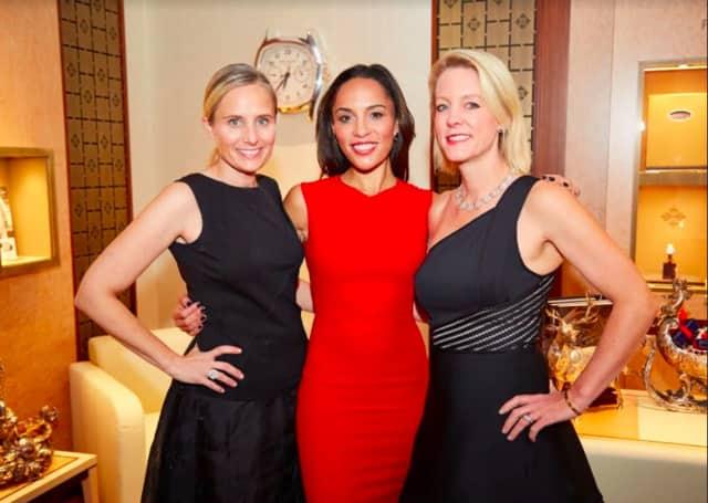 Gala chairwomen, from left, Gretchen Bylow, Dr. Kim Nichols and Jennifer Seidel.