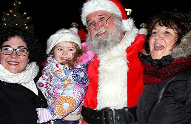 The big man in red is due in Shelton Dec. 1 for the annual Community Tree Lighting.