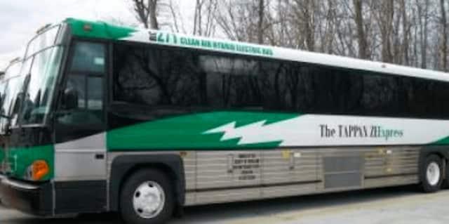 Tappan ZEExpress bus.