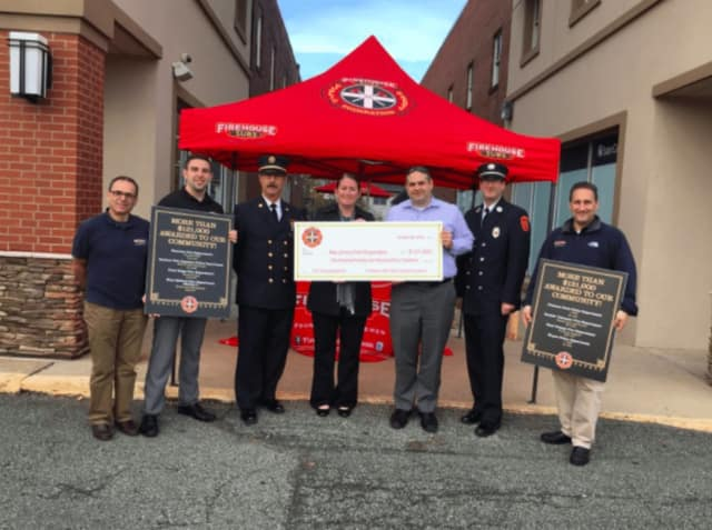 Firehouse Subs and Oradell Fire officials.