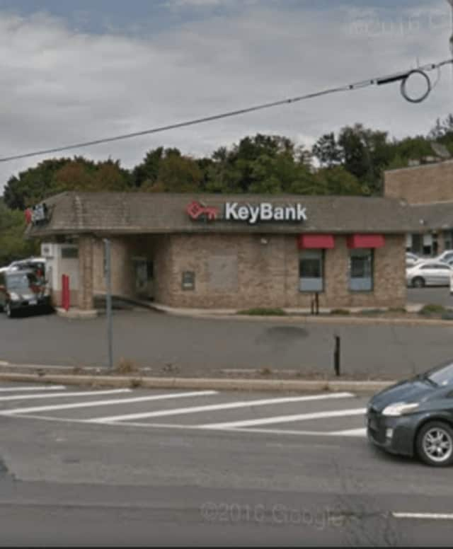 KeyBank on Route 303 was robbed at gunpoint.