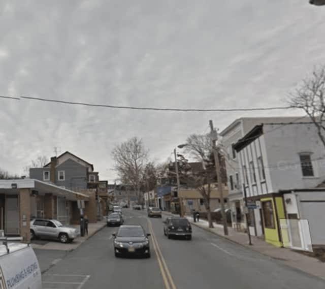 Main Street in Nyack.