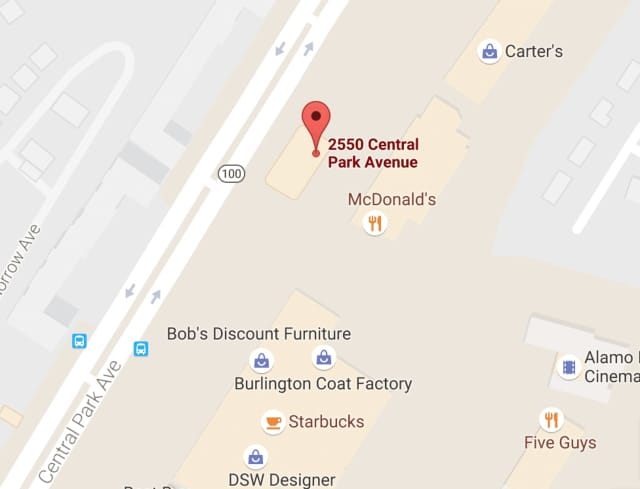 The two-vehicle crash occurred around 11 a.m. Saturday in the area of 2550 Central Park Ave. in Yonkers.