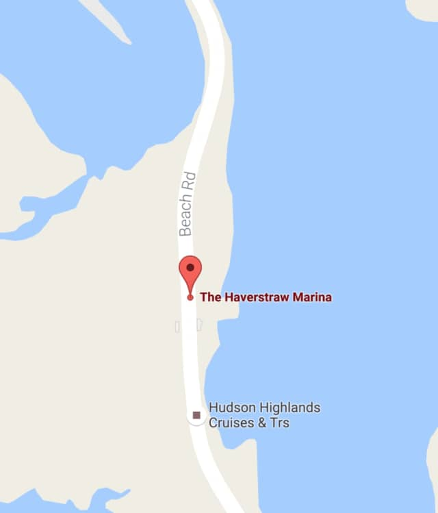 Haverstraw Marina was the site of an early morning boat fire Monday that injured one person but did not spread to other boats, News 12 Westchester reports.