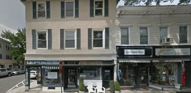 The property that housed T.D.'s Rye Smoke Shop is being renovated.