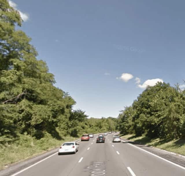 Northbound Sprain Brook Parkway in Yonkers.